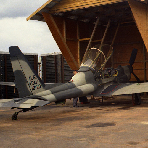 "Lockheed Martin YO-3A ""Quiet Star"" Silent Stealth Airplane"
