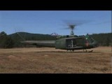 Pancho's Huey '961 – Vietnam Huey Helicopter Taking Off, Flying, Landing UH-1