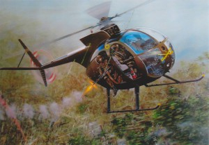 Painting of OH-6A s/n 67-16304 by Joe Kline