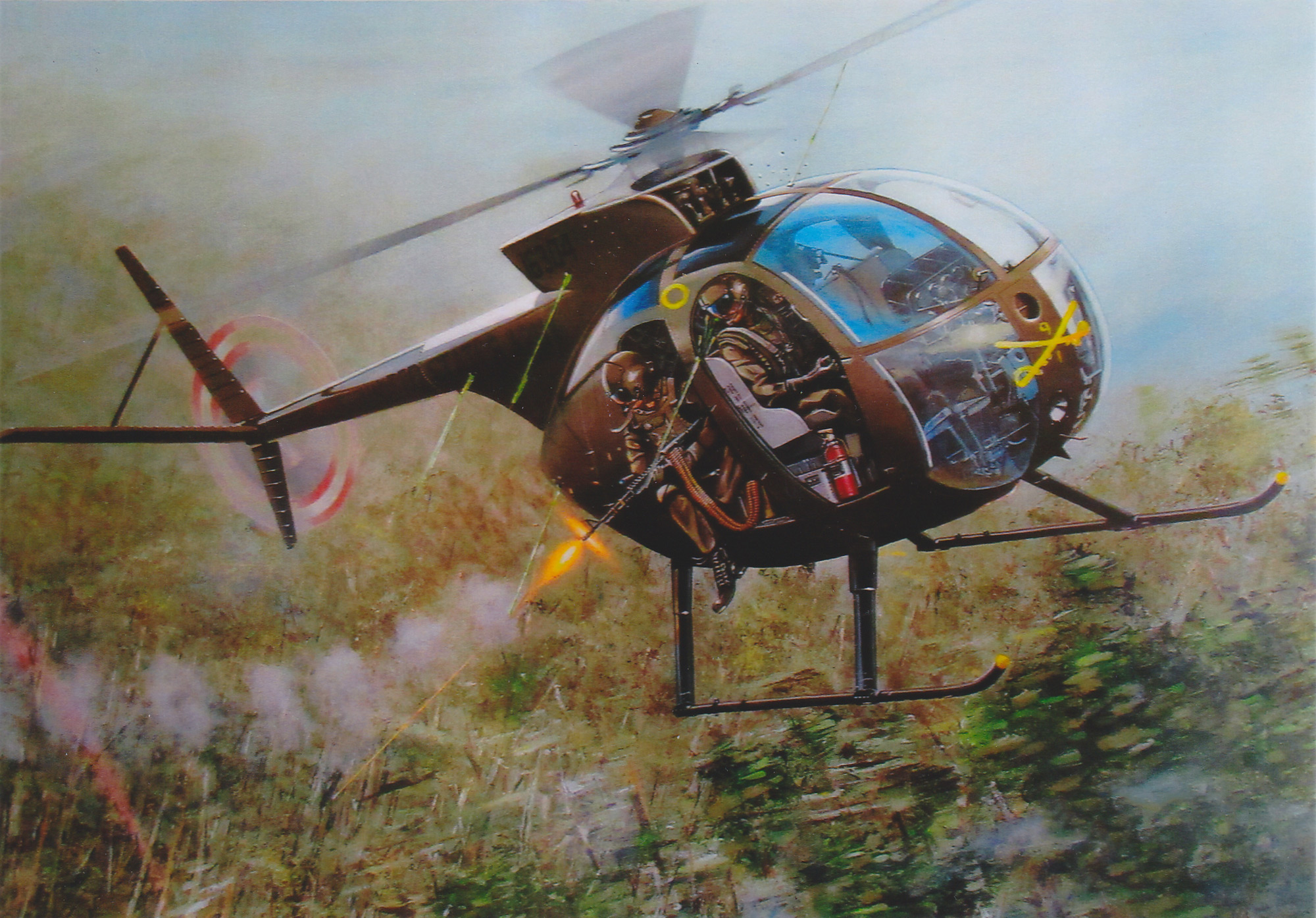 """Vietnam Helicopters Museum – OH-6A """"Cayuse"""" Helicopter s/n"""