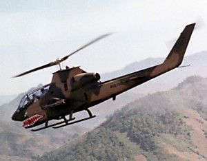 "AH-1F Modernized ""Cobra"" Helicopter, ""Virginia Rose II"""