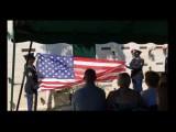 Honor flight over memorial services for Richard C. Brush Jr.