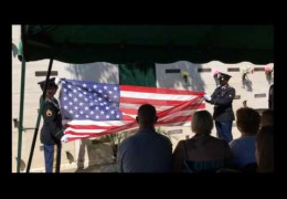Honor flight over memorial services for Richard C. Brush Jr.