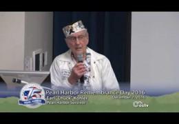 Pearl Harbor Remembrance Mt. Diablo Beacon Lighting