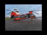"Boeing HH-46E ""Phrog"" Cross Country Flight"