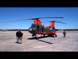 "HH-46E ""Phrog"" Ground Run Up at Cherry Point, NC"